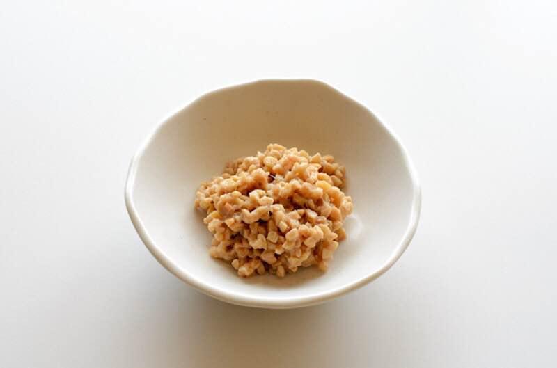 細かく刻んだ納豆