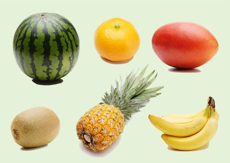 熱帯原産のフルーツ